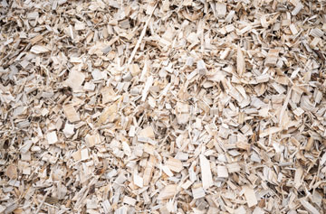 Bark-free woodchips